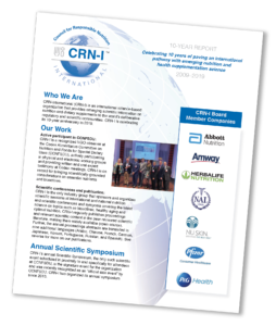 Learn more about CRN in our 10-year report